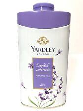 New Yardley London Perfumed Talc English Lavender Talcum Powder 8.8 Oz (250 G)