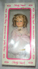 """Vintage IDEAL Shirley Temple Doll Little Colonel Pink Dress 8"""" In Box"""