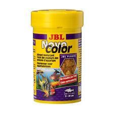 JBL Novocolor 100 ML, Flocken-Hauptfutter for Farbenprächtige Aquarium Fish