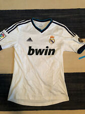 REAL MADRID 2012 2013 ADIDAS HOME FOOTBALL SHIRT JERSEY #7 RONALDO Sz Small