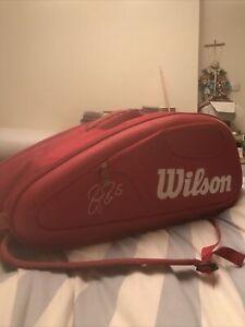 Wison Roger Federer Tennis Racket Bag Red
