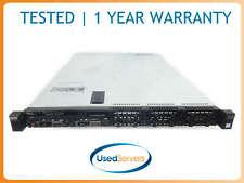Dell Poweredge R430 8 Bay Server 2x 8C 2.6GHZ 128GB 2x 600GB. H730