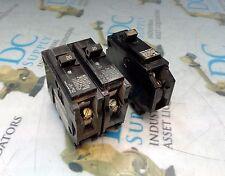 GE GENERAL ELECTRIC 15 A & SIEMENS BL 20 A  SINGLE POLE CIRCUIT BREAKER LOT OF 3