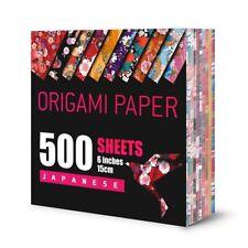 Origami Paper 500 sheets Japanese/Kaleidoscope Washi Style Premium Square Paper