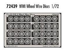 Eduard 1/72 WWI wheel wire discs # 72439