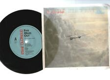 """MIKE OLDFIELD, FIVE MILES OUT / LIVE PUNKADIDDLE 1982 7""""x45rpm RECORD PIC SLV"""