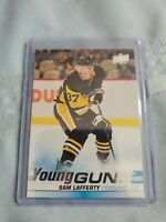 2019-20 Upper Deck #496 Sam Lafferty Young Guns Rookie Pittsburgh Penguins