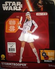 Disney Women's Star Wars New Stormtrooper Costume Medium Dress 10 - 14 Cosplay