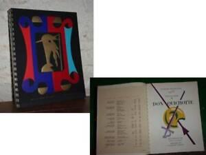 Catalogue Nicolas 1953 Léon Gischia Don Quichotte