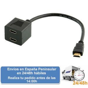 Cable hdmi duplicador de señal (Envio express)
