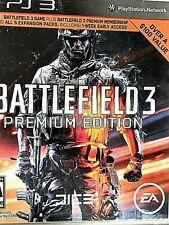 "PS3 - ""Battlefield 3"" - Premium Edition-al fuera Guerra, misiones intenso"