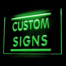 Your Name Your Text Personalized Custom Made Customize Display LED Light Sign