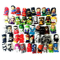 Random Lot 30pcs TMNT/DC Comics/Heroes Ooshies Pencil Toppers Figure - no repeat