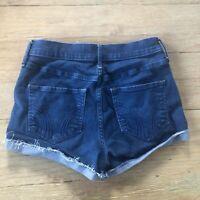 Hollister High Rise Mom Jean Shorts Size 26