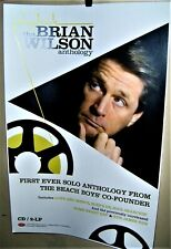 Brian Wilson Solo Anthology Full Color Poster Beach Boys Co-Founder Very Cool