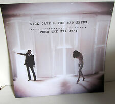 Nick Cave RARE promo Poster heavy card stock print from Push sky away cd 15x15