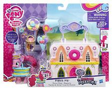 Pinkie Pie Figure & Doughnut Shop Carry Case My Little Pony Explore Equestria 3+