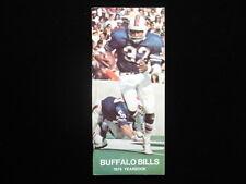 1974 Buffalo Bills NFL Media Guide