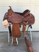 """16"""" Western All Around Saddle - Silver Royal-Rodeo, Trail, Show, Ranch"""