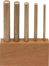 1 x 5 Piece Brass Drift Set Imperial Striking Tool