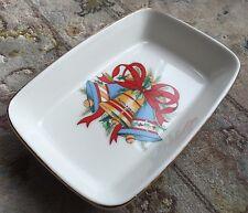 """Inglewood Studio Porcelana Fina Royal Doulton Plato de Navidad """"Kárate Puente"""""""