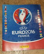 Panini EURO 2016 Football Sticker Album 100% COMPLETE - FULL BOOK VGC