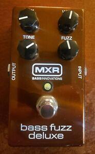 Copper MXR Bass Fuzz Deluxe Guitar Effects Pedal
