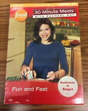 Rachael Ray - Fun and Fast (DVD, 2007, 3-Disc Set) 30 Minute Meals Cooking Show