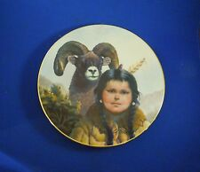 Vintage Noble Companions Pride of America's Indians by Perillo Plate # 4893C