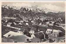Cetinje Montenegro Lovtschen Birds Eye View Real Photo Antique Postcard J61143
