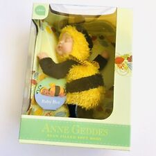 Anne Geddes Baby Bee Bean Filled Collection Soft Doll