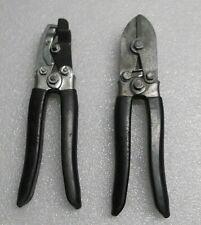New listing (2) Aluminum Siding Vinyl Siding Tools Nail Slot Punch & Crimper Cutter?
