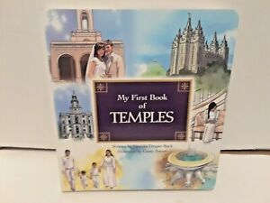 My First Book of Temples by Deanna Draper Buck  (LDS, BOARD BOOK)