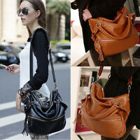 New Lady Handbag Shoulder Bag Tote Purse Fashion PU Leather Women Messenger Hobo