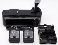 2X Battery LP-E6 + Battery Grip for Canon EOS 7D SLR Camera BG-E7