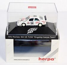 "Herpa 036061, Alfa Romeo 155 V6 TI ""Engstler"",1:87, im Originalkarton #ab1512"