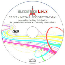 Black Arch Linux 32 bit INSTALL/BOOTSTRAP DVD - Penetration/Testing/Distribution