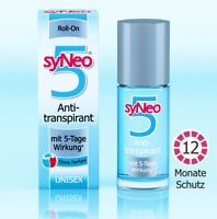 Syneo 5 Antitranspirant Deo Roll-On Ohne Parfüm Unisex 50ml NEU