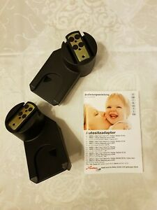 Adapter - Babyschale Maxi Cosi auf Kinderwagen, Quinny Zapp