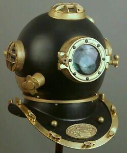 Diving Helmet US Navy Mark V Deep Sea Marine Divers Vintage Scuba SEA Divers