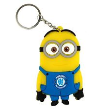Despicable Me Character Minions Rubber KeyChain Ring Holder Dave Football Fans