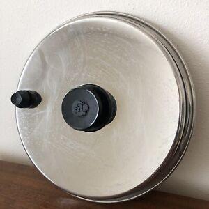 "Royal Prestige 10.5"" Stainless Skillet Pan Pot Lid ONLY Vented"