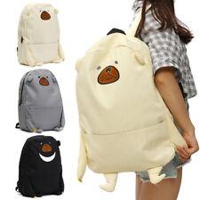 Mochila Bolso Blosa Backpack Animal Carteras Niña Oso Escolar Viaje Exterior Bag