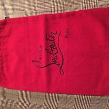 Authentic New Christian Louboutin Dust Bag Sz 14/9