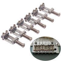 6pcs Roller Bridge Tremolo Saddles for Stratocaster Telecaster Electric Guitar