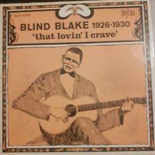 """New listing Blind Blake - 1926-1930 """"That lovin' I crave"""" (new vinyl  Blues LP)"""