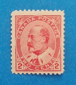 Canada stamp Scott #90 MNH well centered good original gum. Bright clean colors.