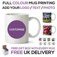 Personalised Business Photo Image Text Mug Mugs Wholesale Bulk Promo Printed Cup