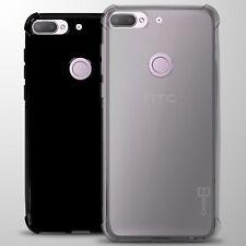 For HTC Desire 12 Plus Case Slim Fit Flexible TPU Rubber Gel Phone Cover