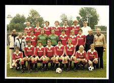 Eintracht Frankfurt Mannschaftskarte 1978-79